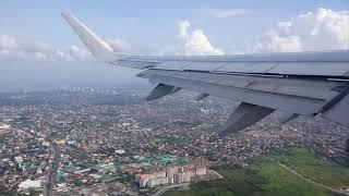 필리핀항공 이착륙( 마닐라에서 부산까지)