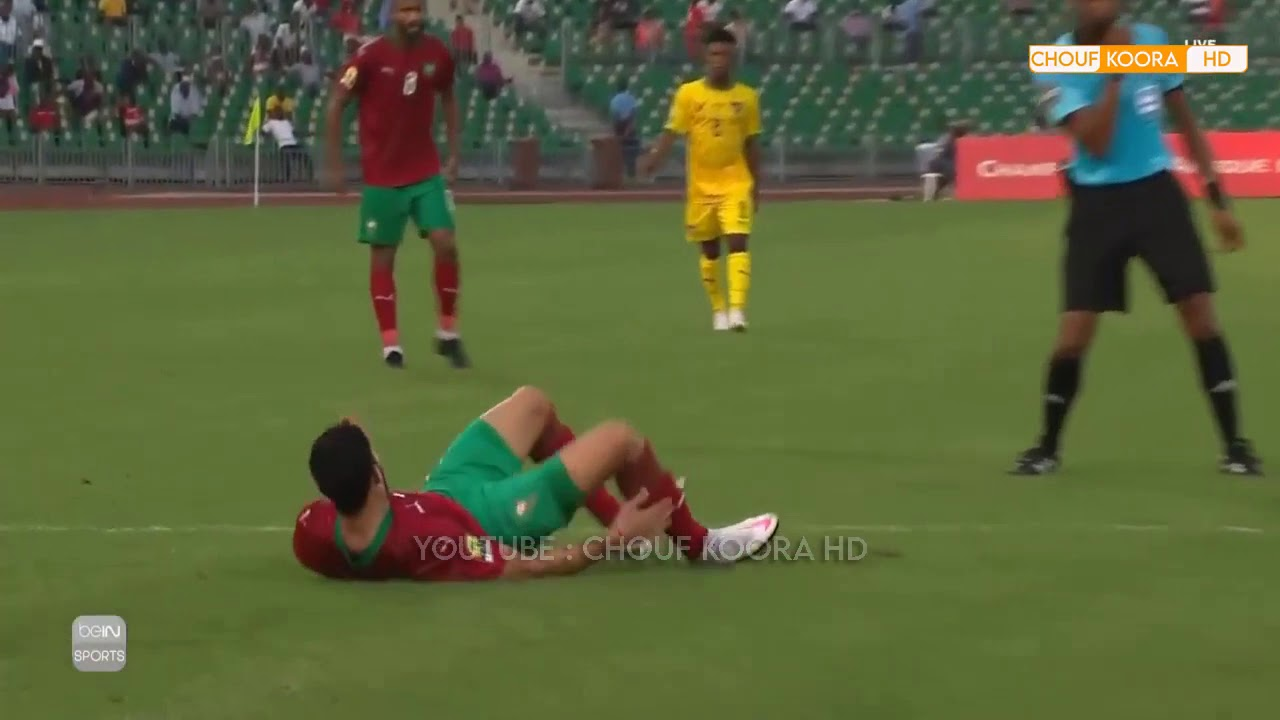 Resumé Match Maroc vs Togo  tres beau match de RAHIMI , CHAN 2021