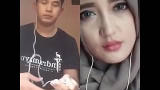 WOW !!! SMULE DAHSYAT MIRIP SUARA KHAI BAHAR + MIRANTY11 CEWE HIJAB CANTIK