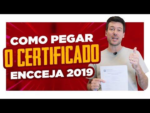 Como PEGAR o CERTIFICADO do Encceja 2019? from YouTube · Duration:  3 minutes 14 seconds