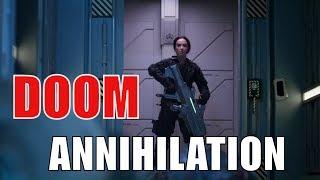 """DOOM: ANNIHILATION (2019) Эксклюзивный трейлер """"Мы называем это адом"""" HD"""