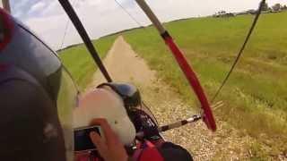 Motolotnia GoPro 3 Hero - Lotnisko Chrcynno