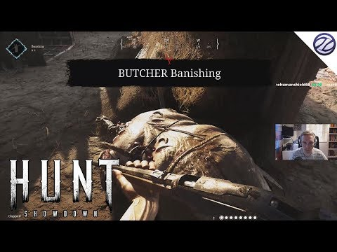 Hunt: Showdown - First Game Slaying The Butcher (New Crytek Game)