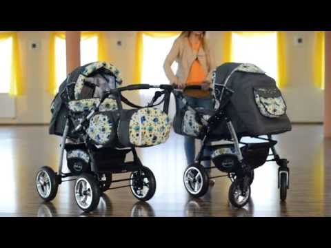 aufbauanleitung lux4kids king kinderwagen doovi. Black Bedroom Furniture Sets. Home Design Ideas