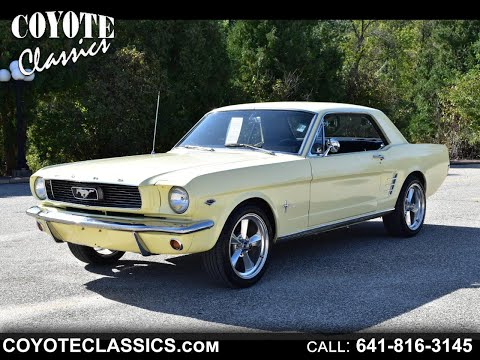 1966 Mustang For Sale At Coyote Classics