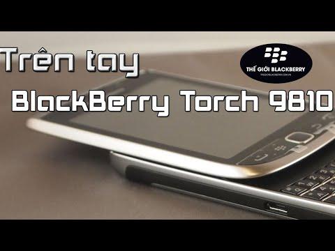 Trên tay, đánh giá BlackBerry Torch 9810 - Chiếc BlackBerry nhỏ gọn, xinh xắn