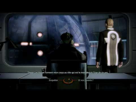 Vidéo Mass Effect 2 Conversation avec Thane— rôle de Thane Krios