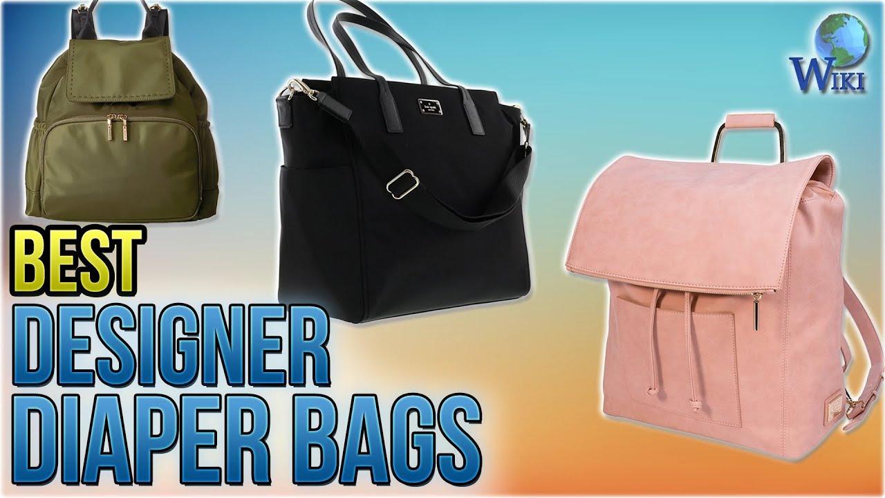 d83de711cebc 10 Best Designer Diaper Bags 2018 - YouTube