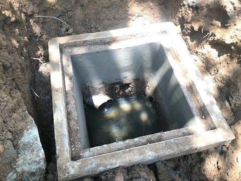 cách làm hầm chứa nước thải