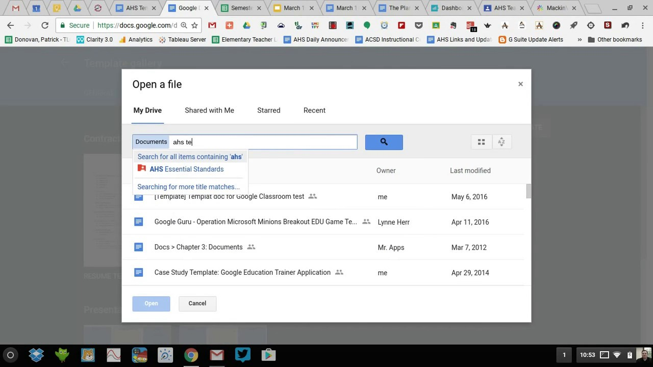 Using and Submitting Templates for Google Docs - YouTube