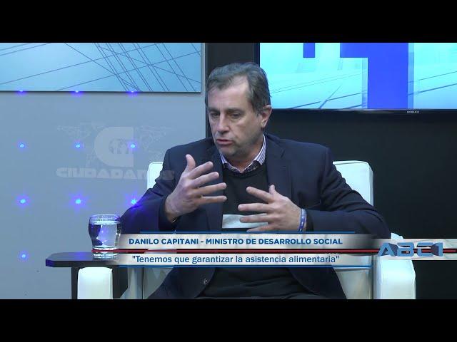 (Adelanto) Danilo Capitani - ministro de Desarrollo Social sobre asistencia alimentaria