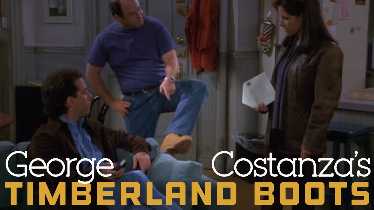 George Costanza Timberlands Seinfeld Youtube