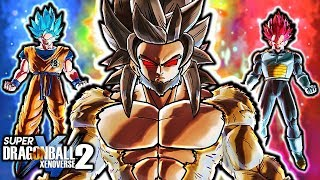 NEW FOSSILIZED SAIYAN KING! Dragon Ball Xenoverse 2 The Untold Saiyan King Sonja Gameplay