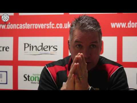 Doncaster's Darren Ferguson previews their clash with Portsmouth