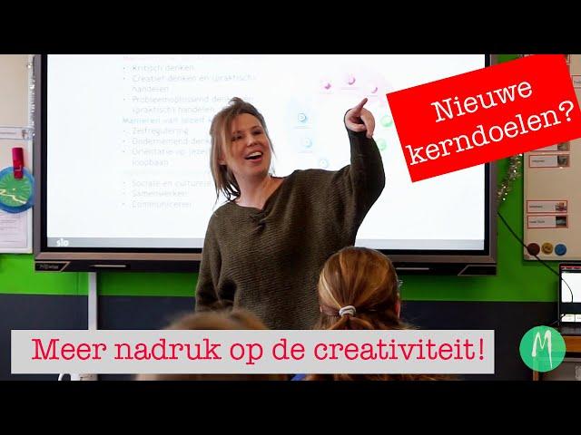Curriculum van de toekomst: meer aandacht voor creativiteit!
