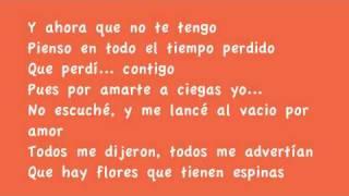 Arcangel- Por Amar A Ciegas (Lyrics)