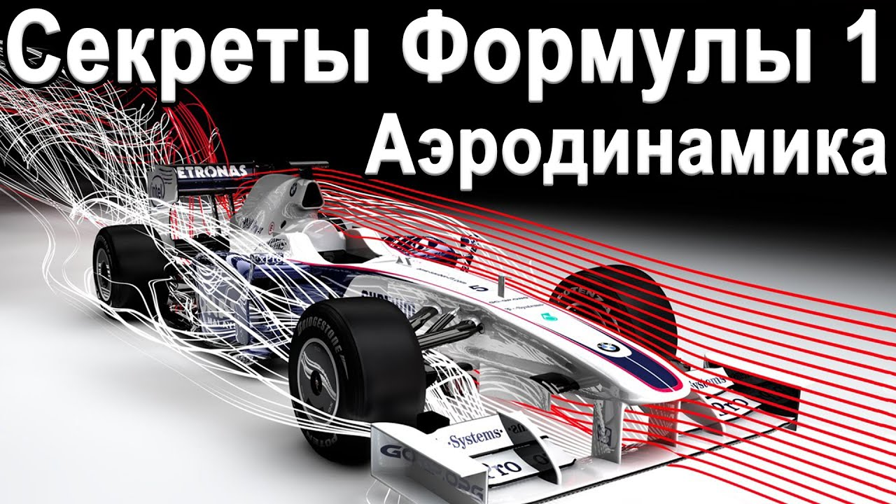 Запрещённая Аэродинамика Формулы 1 - Секретные технологии Формулы 1