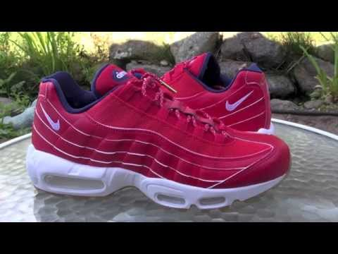 Nike Air Max 95 Independence Day University Red