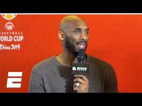 Kobe Bryant talks FIBA Basketball World Cup 2019 | NBA on ESPN thumbnail