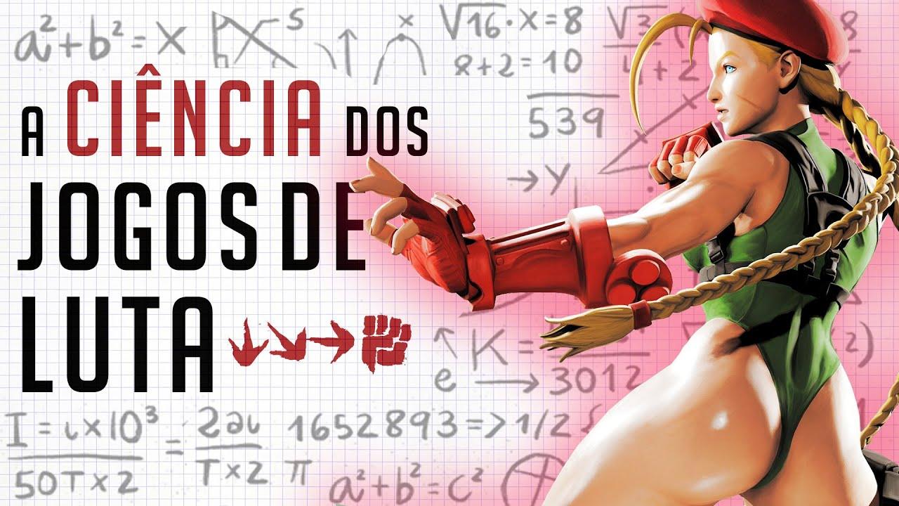 A CIÊNCIA dos JOGOS de LUTA: Street Fighter V para LEIGOS