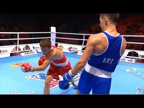 Preliminaries (69kg) KAPULER CISHCHENKO Miroslav (ISR) Vs WALSH Aidan (IRL) /AIBA World 2019