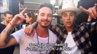 Sorry (latino remix) - Justin Bieber Ft J Balvin (Lyric/Letra)