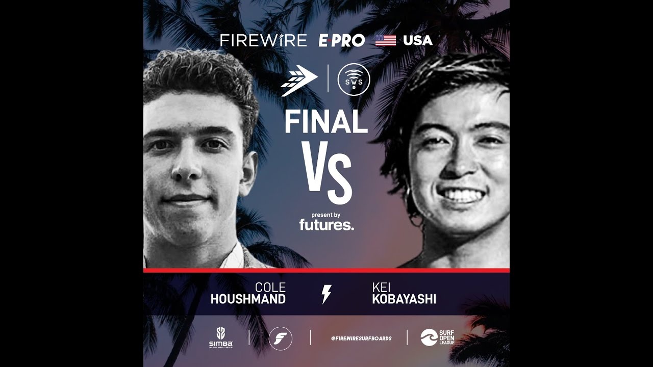 Final Heat FireWire E-Pro USA presented by Futures