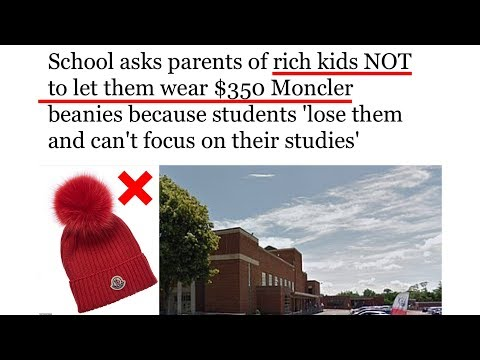 Chris Proctor - School Begs Parents To Leave Kid's Expensive Beanies At Home