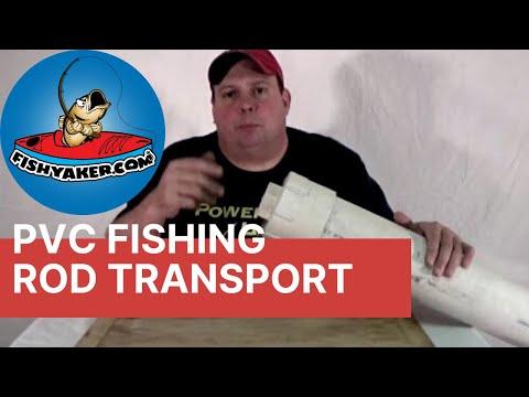 Pvc fishing rod holder next72hours doovi for Fishing rod roof rack tube