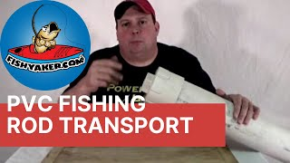 Pvc Fishing Rod Rack And Trailer Transport Tube: Episode 123