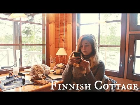 LIVING IN A FINNISH COTTAGE | PADASJOKI, Finland