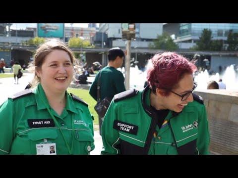 St John Ambulance and Kinetik Wellbeing. A Healthy Partnership