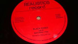 Natural Ites - Black Roses - Realistics Record 12 inches