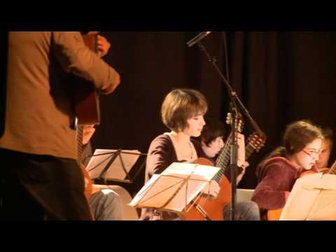Les élèves du Conservatoire des Landes en stage à Cassen
