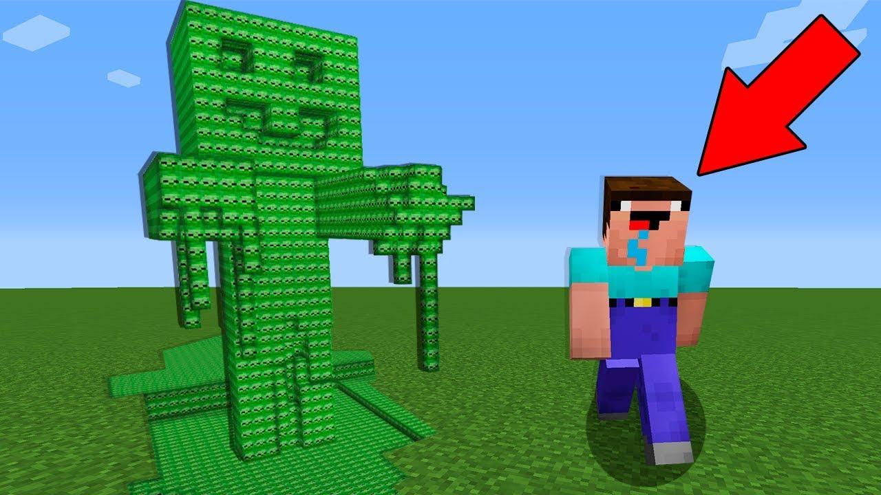 Майнкрафт как сделать статую зомби фото 725