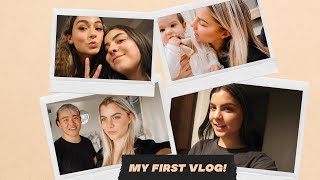 My First Vlog! Dyed My Hair Black, Called The Police On My Uber Driver & Went To An Influencer Event