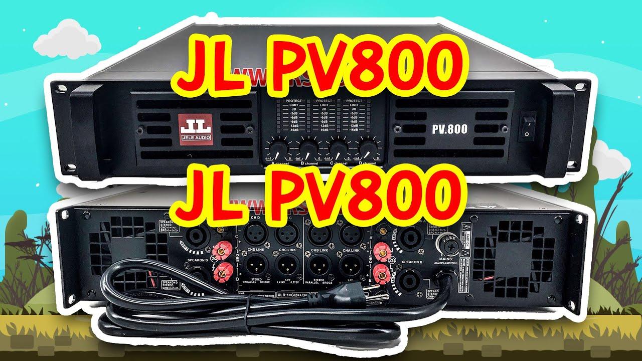 [สปอย] เครื่องเสียงบ้านๆ EP.31 เพาเวอร์แอมป์ JL PV800