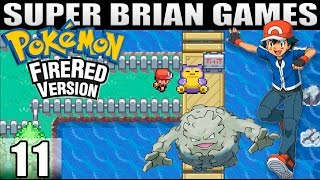 Pokemon FireRed Part 11 | Get out of my way Snorlax