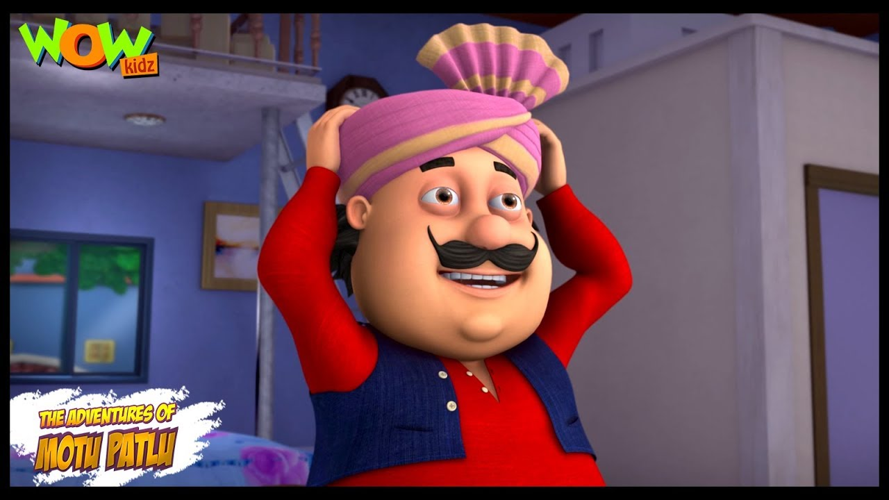 Motu Patlu New Episode | Cartoons | Kids TV Shows | Motu Ki Pagadi | Wow Kidz