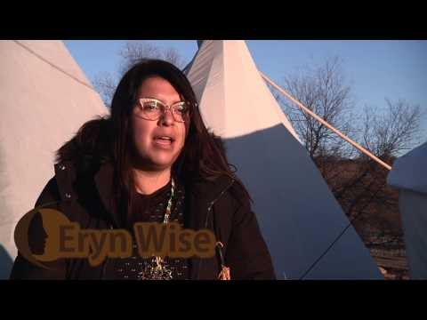 Standing Rock Indigenous Youth Council - Message to Obama | Eryn Wise