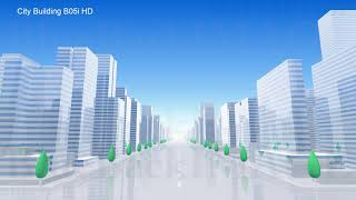 Stock Footage City Town urban building street modern architecture City Building BL07B HD merged