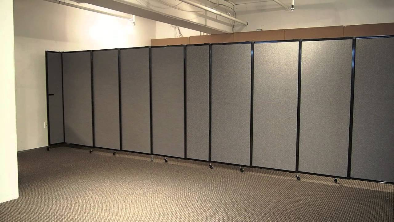 mounted straightwall partition room divider by versare youtube