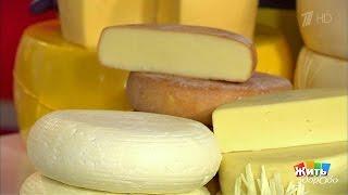 Жить здорово! Выбираем сыр сврачом инфекционистом  07 03 2017