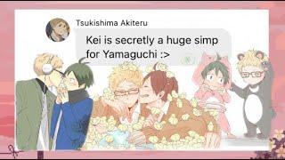 Tsukishima Akiteru exposes soft Tsukki! 👀  {TsukiYama} | Haikyuu Texts
