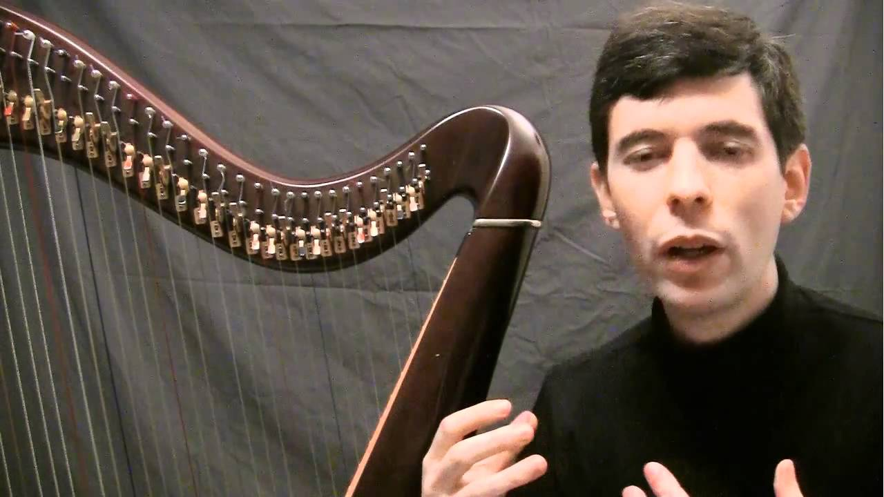 Your First Harp Lesson Intro Youtube