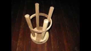 Woodturning Woodworking Stool And Log Slicer