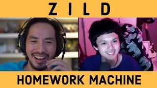 KWENTUHANG KORICS WITH ZILD // DISSECTING HOMEWORK MACHINE