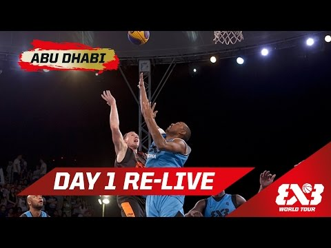 Day 1 + Dunk Contest Qualifier - Re-Live - Abu Dhabi - 2015