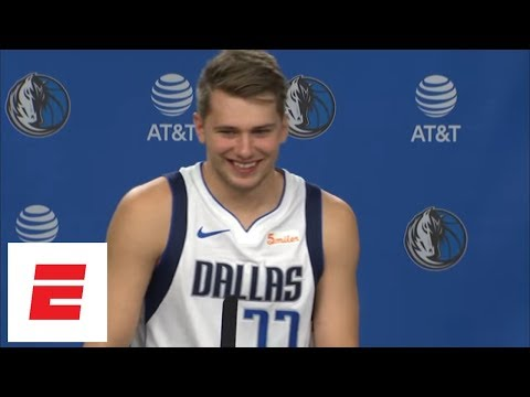 Luka Doncic looking forward to playing against his idol LeBron James | ESPN