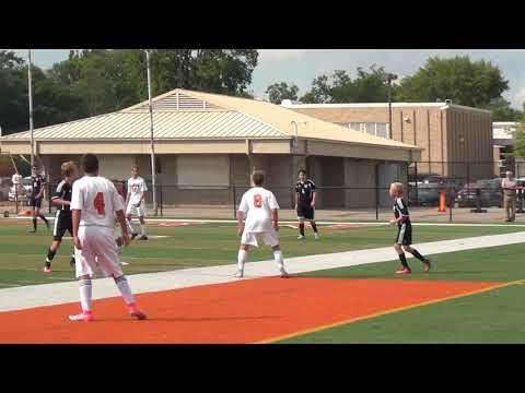 DHS Freshman Soccer vs Grand Blanc 8-30-2017 FIRST HALF